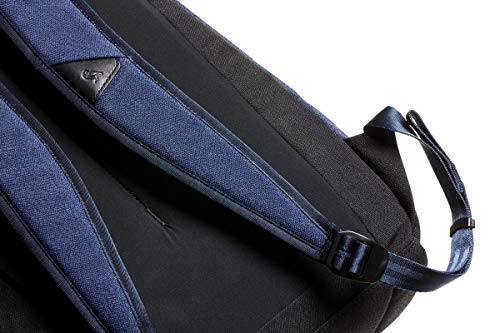 Bellroy Campus Backpack (Slim College Backpack, Protect Sleeve for Laptops Up to 15 Inch, Internal Organization Pockets) - Ink Blue