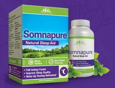 Somnapure Sleep Aid, Natural, 30 Sleep Tablets