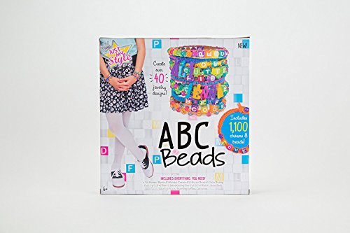 41TK4zMl62L - Just My Style Personalized ABC Beads Kit, Primary