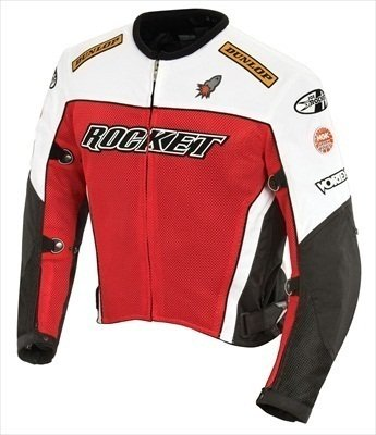 - Joe Rocket 'UFO 2.0' Mens Mesh Motorcycle Jacket - 2X-Large