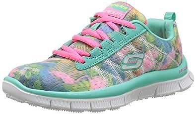 skechers SKECH APPEAL - FLORAL BLOOM - Zapatillas de deporte infantiles, color verde, talla  35