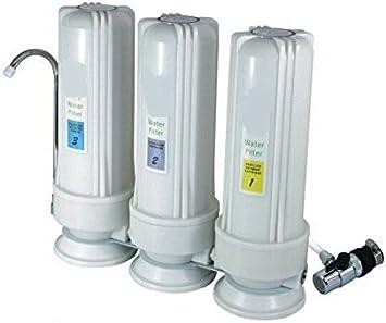 Purificador de agua de esterilización GOWE UV filtro de presión de ...