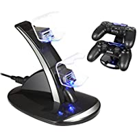 PS4 Controller Charger Dock Station - Raynic Dual USB...