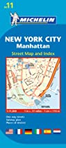 Plan New York City Manhattan par Michelin