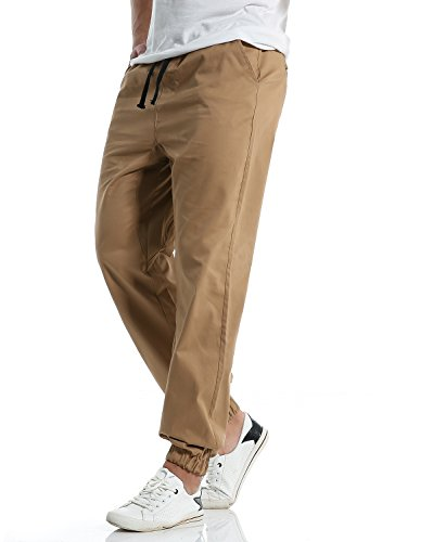 De Correr Joggers Pantalones Inferior Chándal Beige Jogger Parte Harén Cq51Pa1Uwg