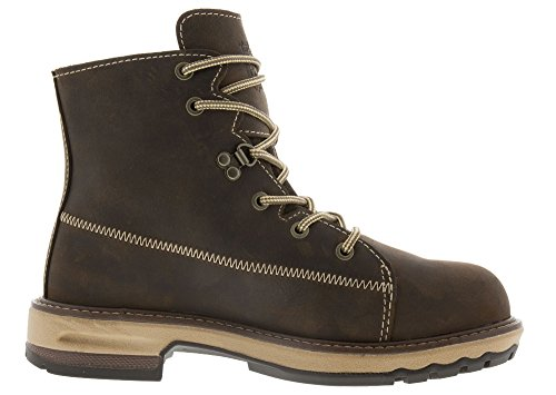 Timberland PRO Women's Hightower 6'' Alloy Toe Industrial and Construction Shoe, Kaffe Full-Grain Leather, 8 M US by Timberland PRO (Image #1)