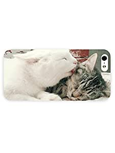 3d Full Wrap Case for iPhone 5/5s Animal Cats68