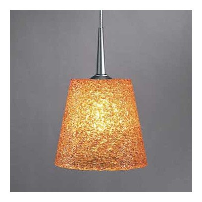 - Bling I 1 Light G9 Monopoint Line Voltage Pendant Finish: Chrome, Shade Color: Silver