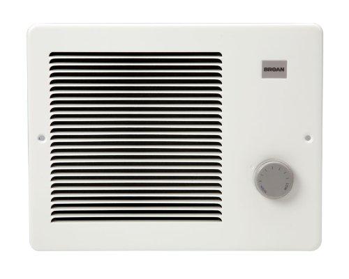 Broan 178 Wall Heater, 1000/2000 Watt 240 VAC, White Painted Grille