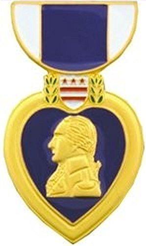 Purple Heart Large Pin