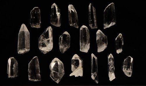Arkansas Quartz from Avatar Crystal Mine - 50 Pcs | Display Specimens, Reiki, Wicca (Arkansas Quartz Crystal)