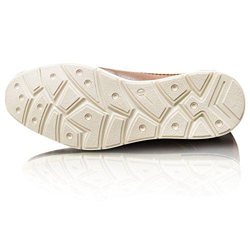 Chaussures Décontracté 11 NEUF xelay Formel Hommes cuir UK Marron brun doubléélégant taille à noir lacets 6 8ap6qwpE