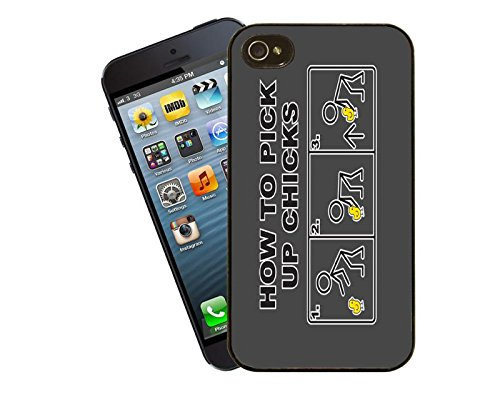 Wie Pick up Küken, Design 1 iPhone Case - dieses Cover passt Apple Modell 4 und 4 s - von Eclipse-Geschenkideen
