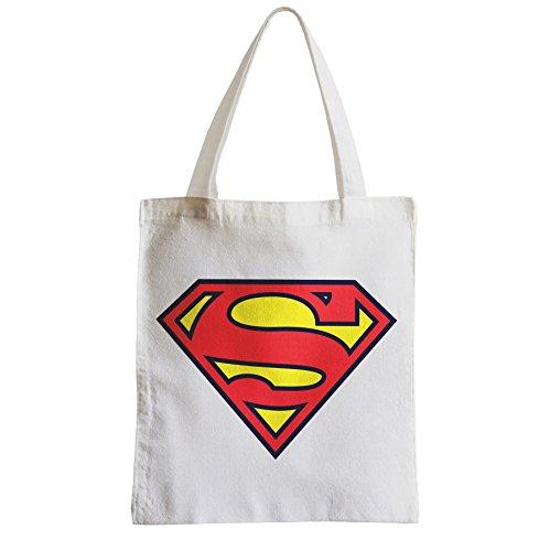 Superman-Große Tasche Sack Einkaufsbummel Strand Schüler Held