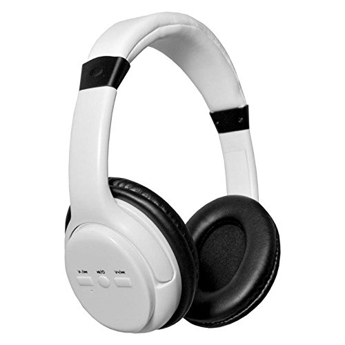Bluetooth Headphones w/Microphone Built in, Over Ear Wireless Headphones for Music, Streaming, Movies, Cell Phone, Tablet, PC, Smartphone, Gym