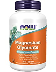 Now Foods Magnesium Glycinate, 180 Tablets