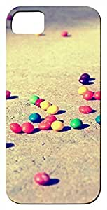 Generic 3D Colorful Candies On The Ground Hard For HTC One M7 Phone Case Cover