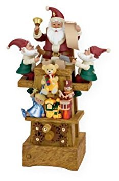 (Santa's Jolly Workshop 2009 Hallmark Ornament)