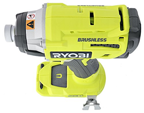 Ryobi P238 18V One+ Brushless 1/4 2,000 Inch Pound, 3,100 RPM Cordless Impact Driver w/ Gripzone Overmold, Belt Clip, and Tri-Beam LED (Power Tool Only, Battery Not Included) by Ryobi (Image #5)