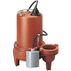 Pump, Sewage, 3/4hp, 6a