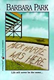 Mick Harte Was Here[MICK HARTE WAS HERE][Paperback]