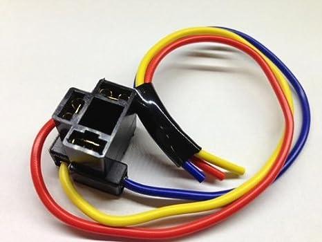 h4 hb472 472 bulb holder plug headlamp wire wiring repair headlight  connector: amazon co uk: car & motorbike