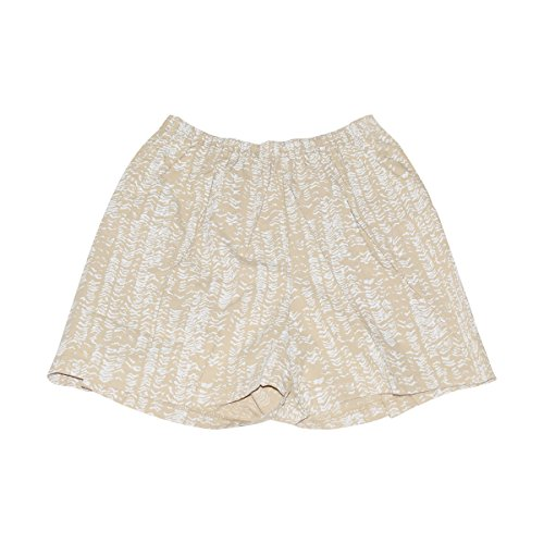 Fresh Produce Womens Cabana Short Cotton Clothing Bottom (Washed Khaki, Medium)