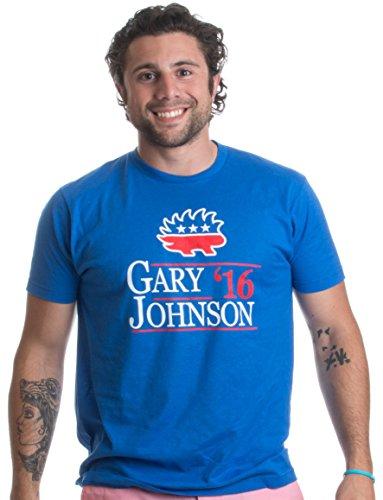 GARY JOHNSON '16   Libertarian for US President 2016 Election Unisex T-shirt