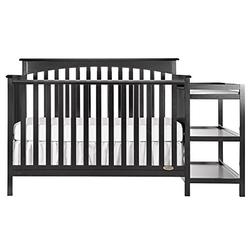 Dream On Me Chloe 5-in-1 Convertible Crib with Changer, ()