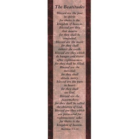 Bookmark Package - The Beatitudes, Bookmarks (Package of 25)