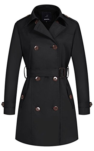Double Breasted Long Coat - 7