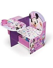 Delta Children Disney Minnie Mouse Chair Desk with Storage Bin, 19.62 pound