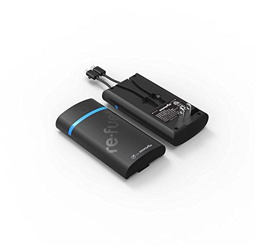 Mizco-Headphones Rechargeable Pwr Bank 5200Mah Rechargeable Pwr Bank 5200Mah Rechargeable Pwr Bank 5200Mah Rechargeable Pwr Bank 5200Mah 4.75In L X 2.5In W X 1In ()