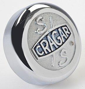 Cragar 09080 Cragar S/S Logo Flat Center Cap