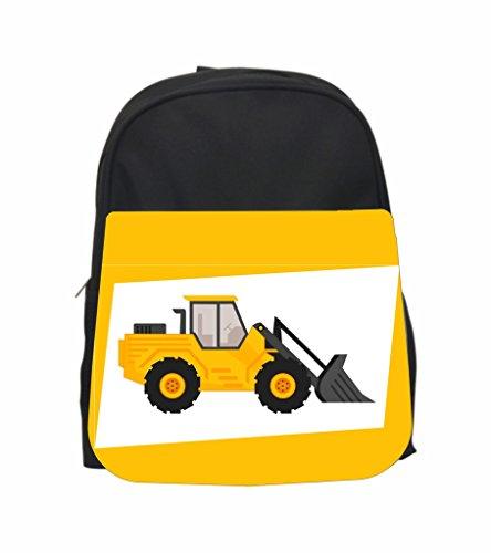 Jack Front Loader - Front-Loader Truck Jacks Outlet TM PreSchool Children's Backpack, Lunch Bag and Pencil Case set