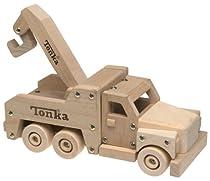 Tonka Wooden Tow Truck Playset