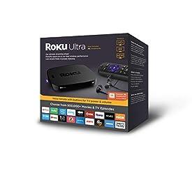 Roku Ultra | HD/4K/HDR Streaming Media Player.Now includesPremium JBL Headphones. (2018)