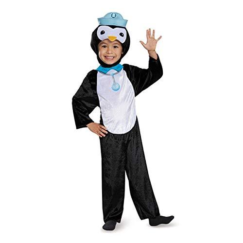 Peso Penguin Classic Octonauts Silvergate Media Costume, Small/2T -