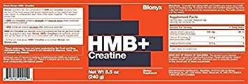 Blonyx Hmb+ Creatine. 240g (2 Month Supply)