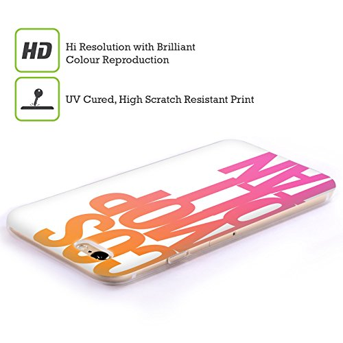 Official Cosmopolitan Stacked Logo Soft Gel Case for Apple iPhone 5c