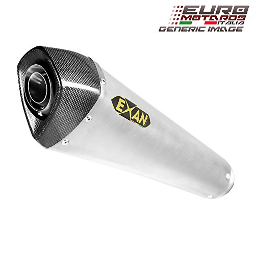 Kawasaki Z900 Exan Exhaust FULL SYSTEM + Silencer Conic X-BLACK Titanium New