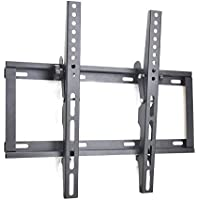 Sunydeal TV Wall Mount, Tilting Bracket for Most 17-55 Inch LED, LCD and Plasma TVs up to VESA 400 x 400mm and 110 LBS Loading Capacity