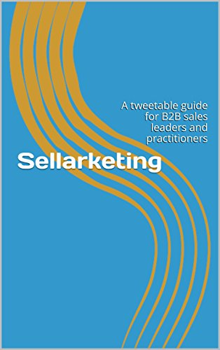 Sellarketing highlights the necessary convergence of sales and marketing skillsevery modern sales person needs to be successful. This book provides insightson how you can market yourself and your product using the techniques of social selling through...