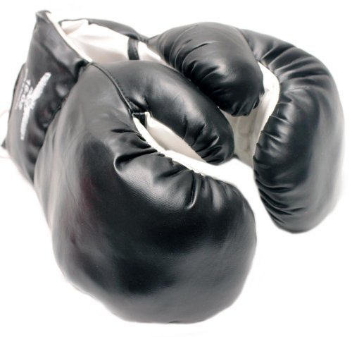 1 Pair Black 12oz Boxing Gloves New Punching Gloves [並行輸入品] B07T5488GH