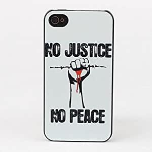 LZX Justice Style Protective Back Case for iPhone 4/4S