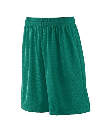 - Augusta Sportswear BOYS' LONG TRICOT MESH SHORT/TRICOT LINED L Dark Green