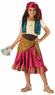 Baby Gypsy Costumes - Gypsy Child Costume - Large