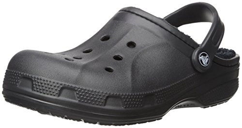 Crocs Sabots black Adulte Winter Clog black Noir Mixte OOxaZUqw