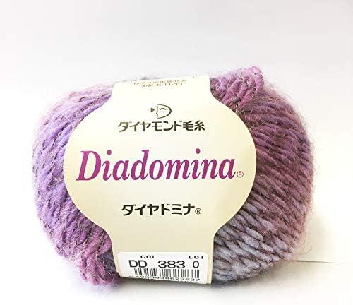 ダイヤ毛糸 ダイヤドミナ 毛糸 並太 Col.383 マルチ 系 40g 約112m