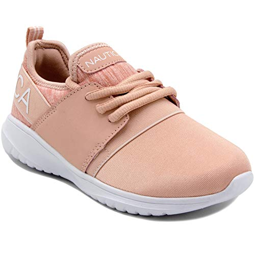 Nautica Kids Girls Fashion Sneaker Running Shoes - Little Kid/Big Kid-Kappil Girls-Blush-4 ()